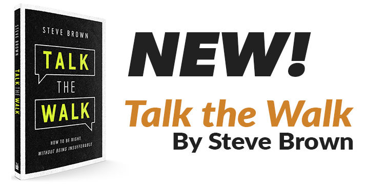 Talk the Walk book available now